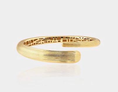 ✨Shiny Snake Gold Bracelet  ✨Leaf Pearl Earrings