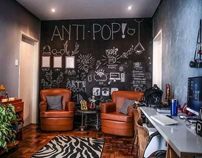 O estúdio Antipop!