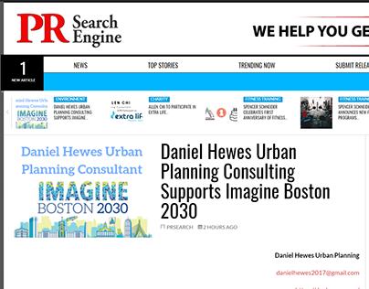Imagine Boston 2030 - Daniel Hewes