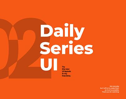 Daily Series UI - 02/2020