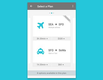 Trip Planning Pro Conceptual Design