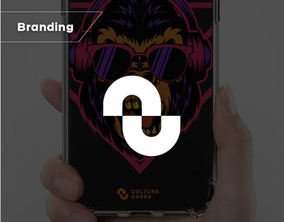 Logo for a phone cases manufacturer
