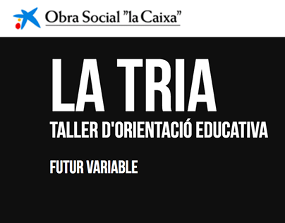 FUTUR VARIABLE - LA TRIA