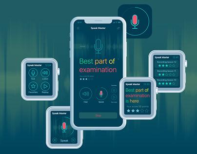 Design SpeakMaster App