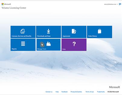 Microsoft volume licensing center
