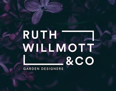 RUTH WILLMOTT — Garden Designer Identity