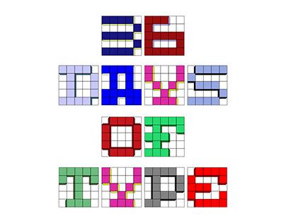 36 Days of Type #3