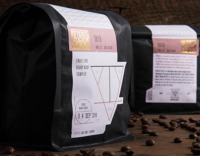Peddler Coffee Alchemy Packaging Redesign