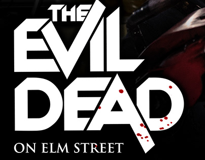 The Evil Dead on Elm Street - Photomanipulation