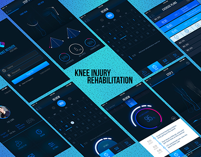 Athlete knee injury rehabilitation assistance design
