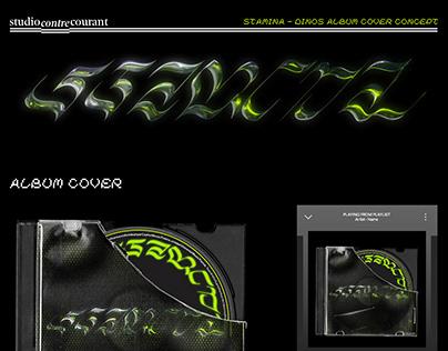 """Dinos """"Stamina"""" - Album Cover Concept"""