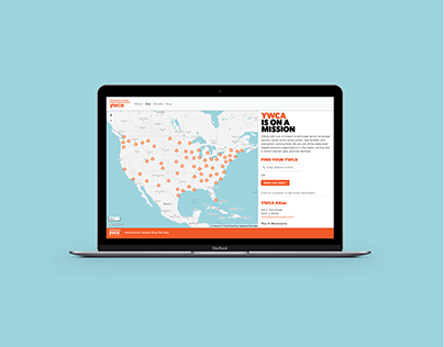 YWCA Interactive Map
