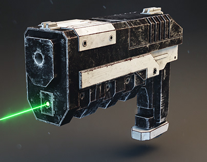 Ancient X-Com Handgun