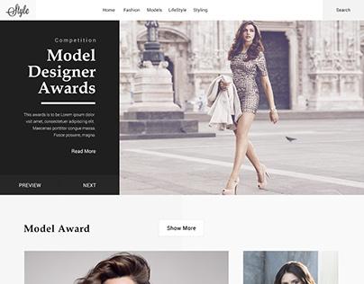 One Page design - web ui