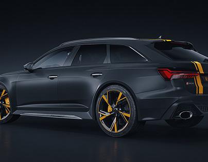 Audi RS6 Avant 2020 Mansory (CGI)