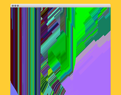 Abstract Glitch Art