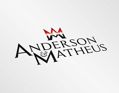 Logotipo - Anderson e Matheus