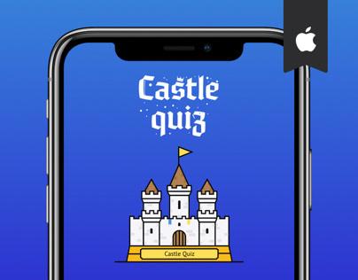 Castle Quiz — Game UI Design