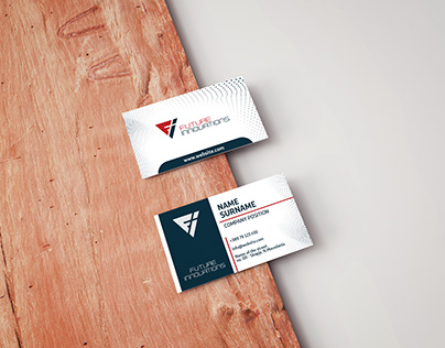 Future Innovations Business Card Design