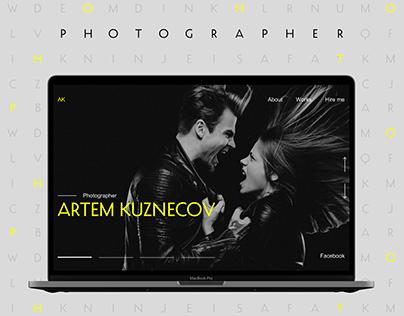 BUSINESS CARD WEBSITE | PHOTOGRAPHER