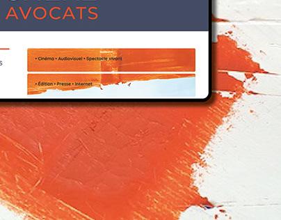 Cabinet d'avocats - branding & website
