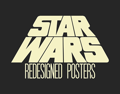 Redesigned Posters - Star Wars Trilogy