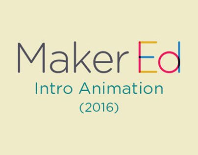 Maker Ed Intro Animation