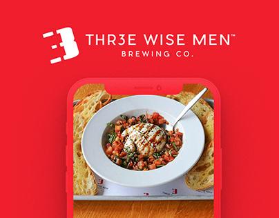 Thr3e Wise Men Brewing Co. | Website Redesign 🖥