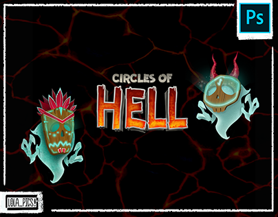 CIRCLES OF HELL - adventure game training