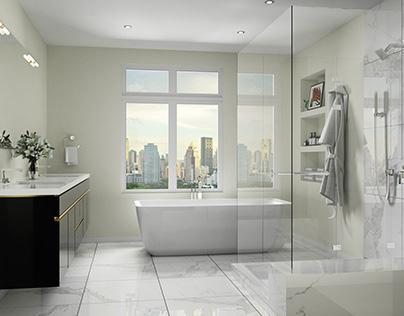 Modern Bathroom Design 簡約浴室設計