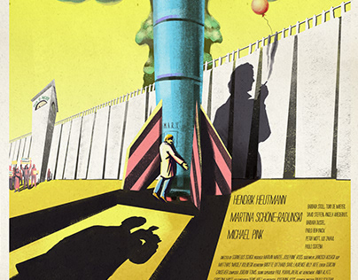 """Film Poster for """"Love and 50 Megatons"""""""