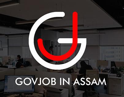 GovJob in Assam Logo