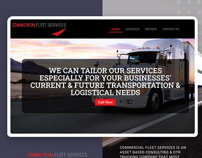 Commercialfleet Web design