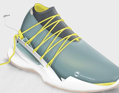 Fragment - Footwear concept for handball