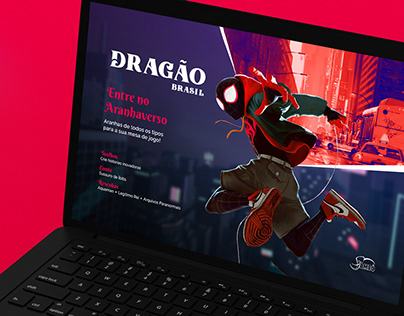 Dragão Brasil | Redesign