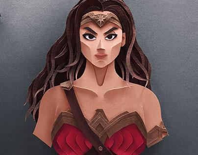 Justice League Papercuts