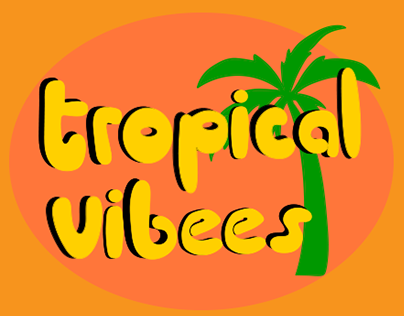 Tropical Vibees - Sparkling Water
