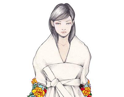 Fashion illustration: AW 2016-17