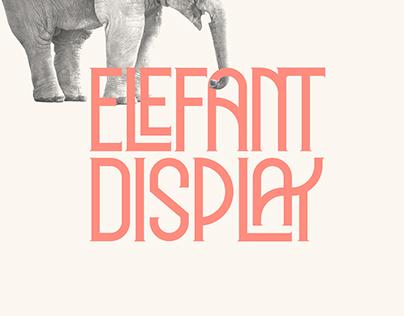 ELEFANT DISPLAY // Free Typeface