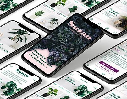 Suzan | Designer végétal