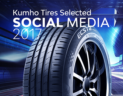 Kumho Tires - Social Media
