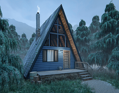 CGI - Forest Chalet