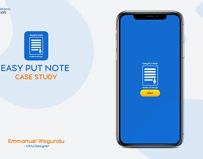 Easy Put Note App