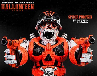 "Halloween Special - Custom Mechnoiz Toy's 7"" Panzer"