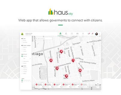Haus City - Web app