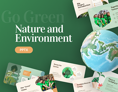 Free Nature and Environtment Powerpoint Template