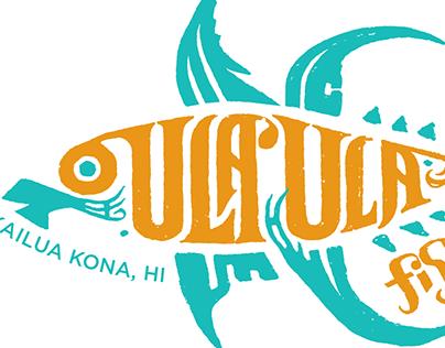 Ula'Ula Fish Co. Logo [PROPOSED]