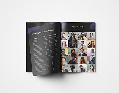The BlockStars - Brochure Mockup