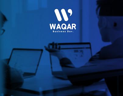 WAQAR business development \ Branding \ logo