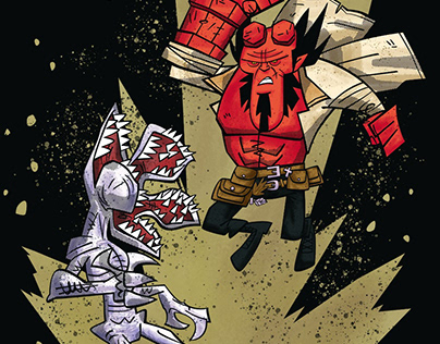 Hellboy VS Demogorgon